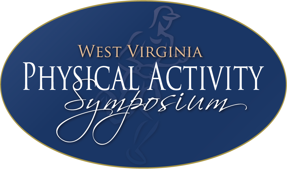 This is a full color version of the West Virginia Physical Activity Symposium logo used for illustration purposes on the website.