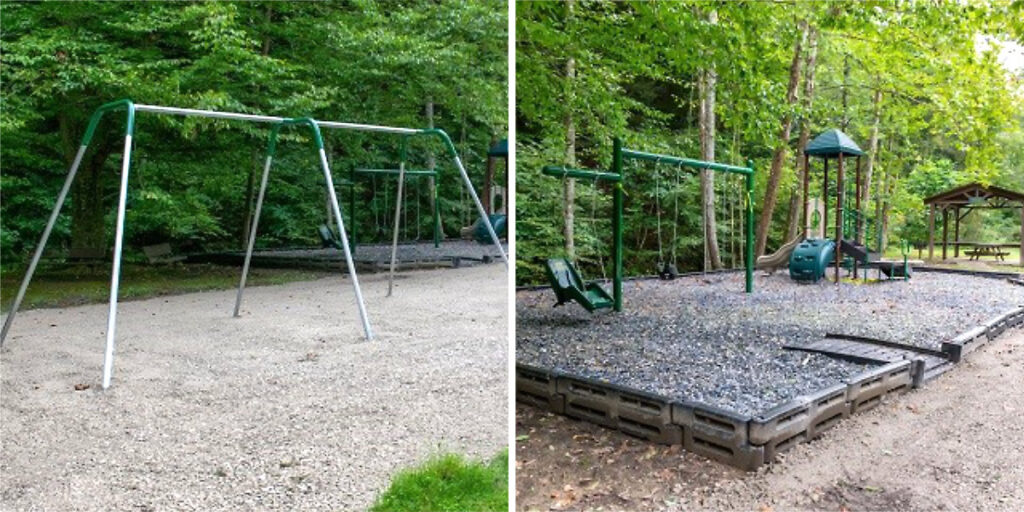 This is the playground for the Kanawha State Forest Foundation funded partner.